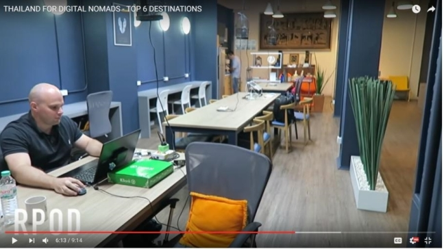 Coworking Space, Digital Nomad, Pattaya