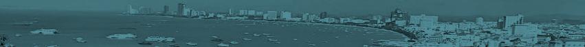 Pattaya Bay Blue Tone